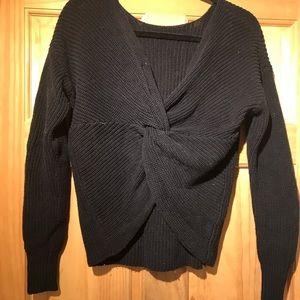Twisted-sexyBack LOFT knit 100% Cotton
